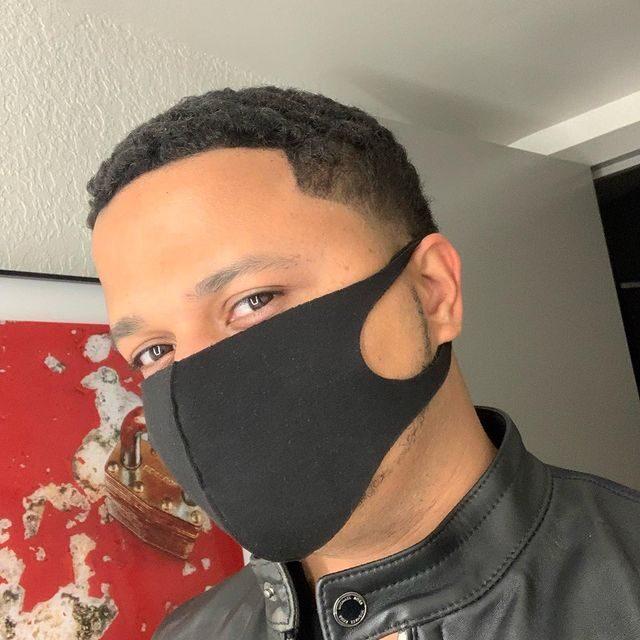 Freddie Figgers Wearing a Mask